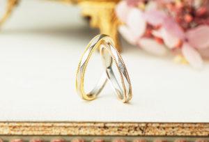 【金沢市】アンティークなデザインが可愛い結婚指輪…♡