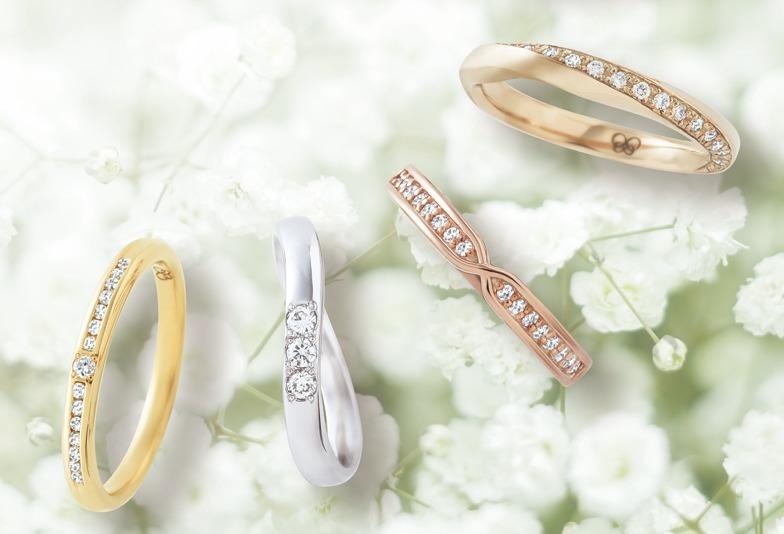 【静岡市】セミオーダーでつくるこだわりの結婚指輪 お二人のお好みはどの素材?