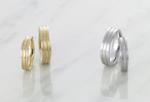 大阪で鍛造の結婚指輪を探す
