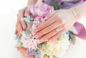 【福山市】女性に贈る婚約指輪。迷ったときにおすすめなお指別のデザイン♡