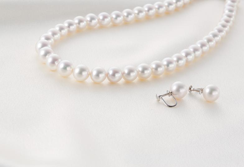 【福島市】真珠ネックレスを長く美しく保つためのポイント♡
