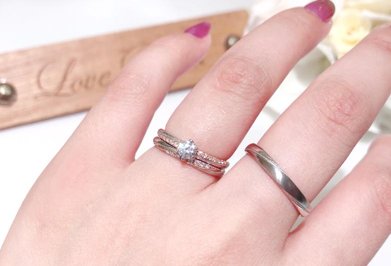 コンビネーションリング 結婚指輪