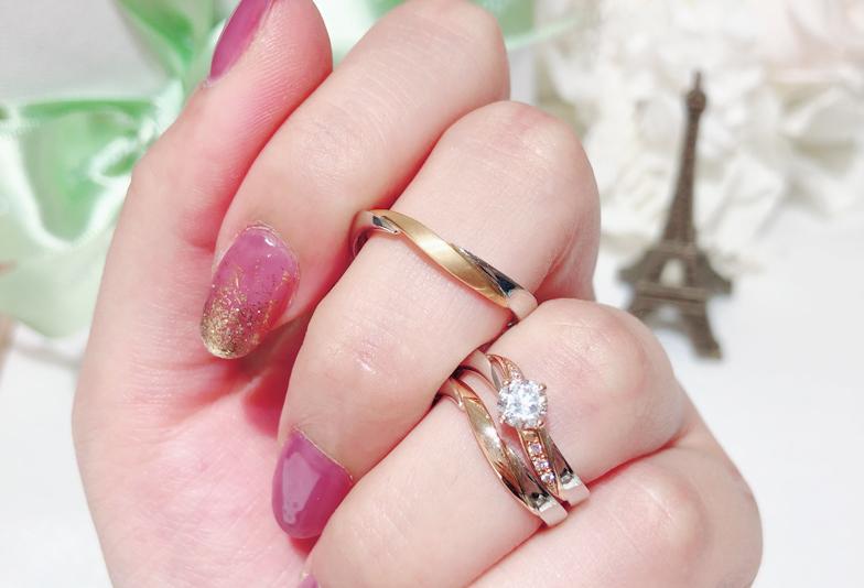 【沼津市】婚約指輪と結婚指輪を重ねて着けたい!女子の憧れを知ろう!