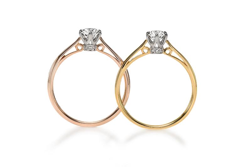 婚約指輪キュート