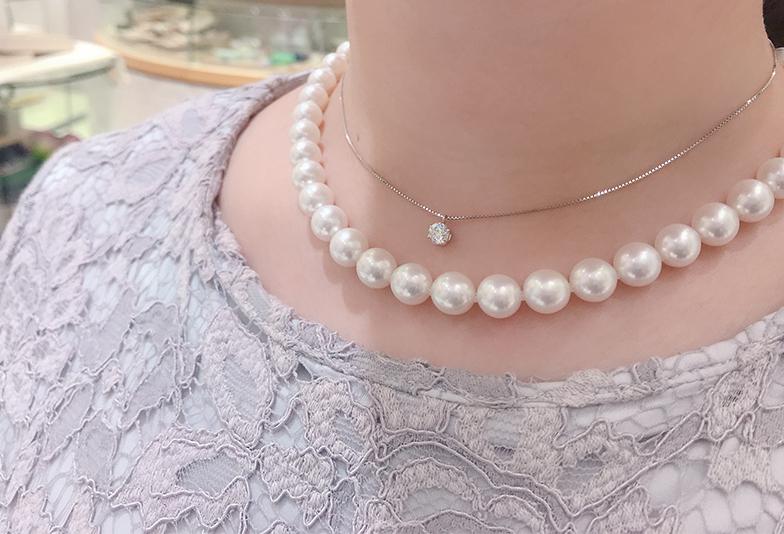 福井市人気の真珠ネックレス