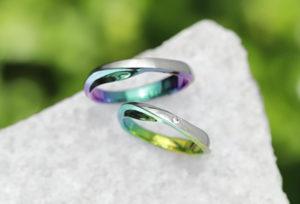 【浜松市で探す】色のついた結婚指輪が話題!何年着けていても見惚れる結婚指輪とは?