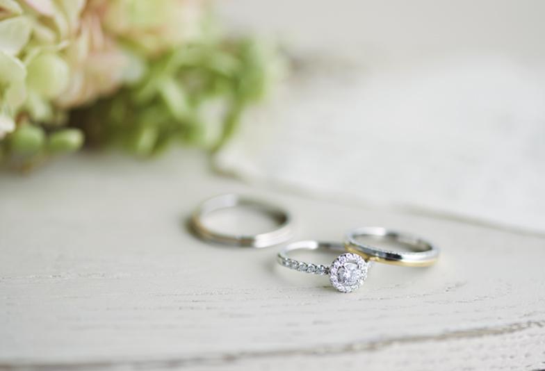 【静岡市】女子人気抜群の婚約指輪と結婚指輪の重ね着けが可愛いブライダルブランド