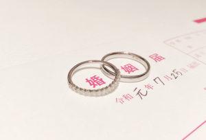 【静岡市】結婚指輪は入籍前の準備に必須!どのくらい前から探すべき?