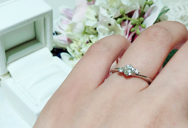【静岡市】婚約指輪の値段はいくら?2021年購入者の口コミ