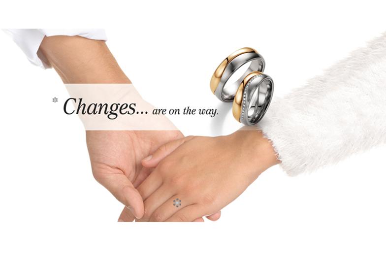 マイスターが作る鍛造の結婚指輪