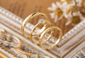 【福岡県久留米市】素敵なのは見た目だけじゃい!結婚指輪の装飾技法『ミル打ち』の持つ意味