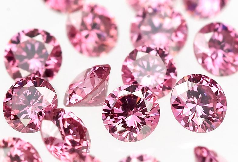 【大阪・岸和田市・堺市】ピンクダイヤが可愛い♡人気のMariage ent(マリアージュ エント)の婚約・結婚指輪をご紹介♩