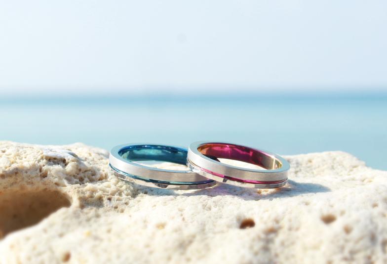 【浜松市】金属アレルギーでも安心!?結婚指輪を自由に選べるアレルギーフリーの結婚指輪とは?