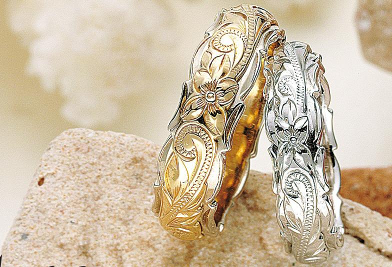 ハワイアンジュエリーMaxi結婚指輪