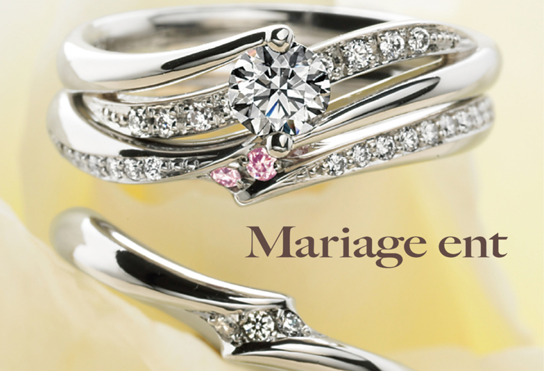 マリアージュの婚約指輪プルミエール