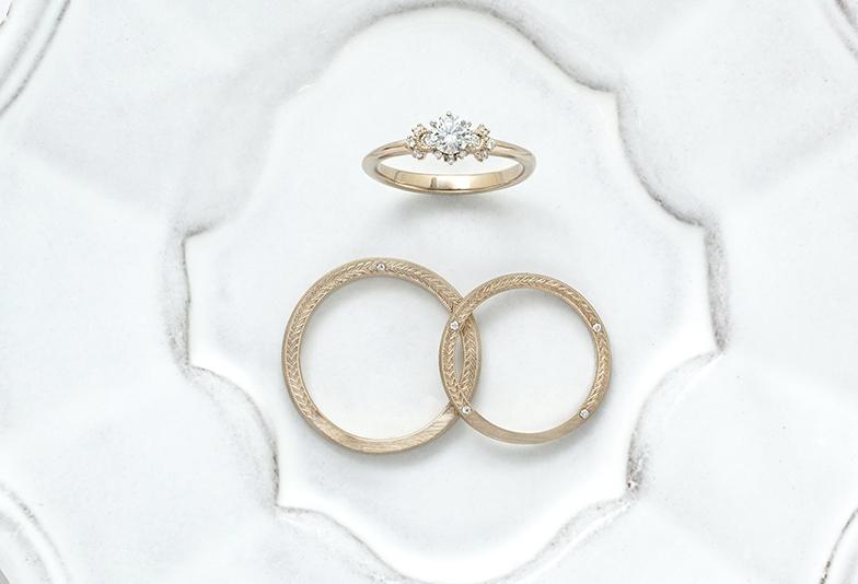 【広島市】おしゃれで普段使いしやすい結婚指輪が欲しい!