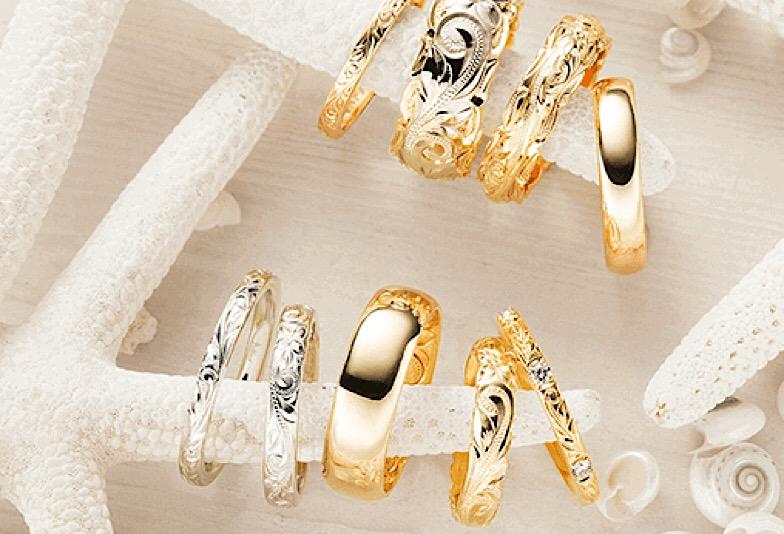 【長岡市】結婚指輪はハワイアンジュエリーで決まり!オーダーの流れとは?