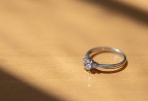 【静岡市】婚約指輪のプチリフォーム!指輪からペンダントネックレスへ。