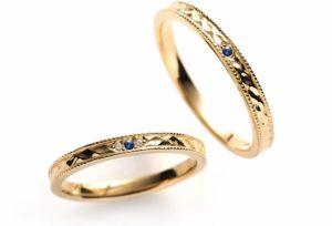 【新潟市】今時花嫁はカジュアルスタイルな結婚指輪を