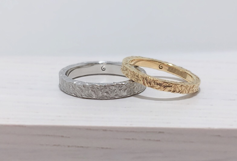 【新潟市】個性的な結婚指輪!こだわり派の彼も気に入る4つのポイント