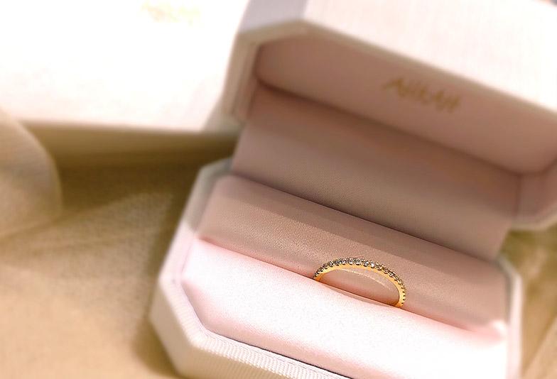 【金沢市】AHKAHティナリング 結婚指輪、婚約指輪、ギフトに人気なエタニティリング…