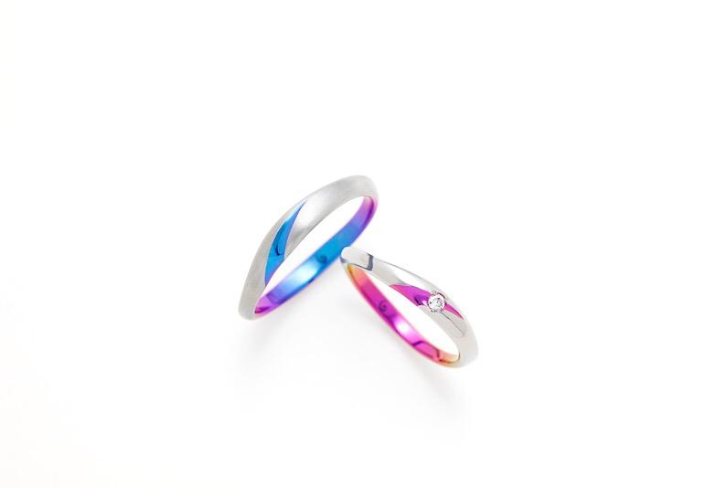 【新潟市】Twitterで話題!カラフル結婚指輪を大解剖してみた