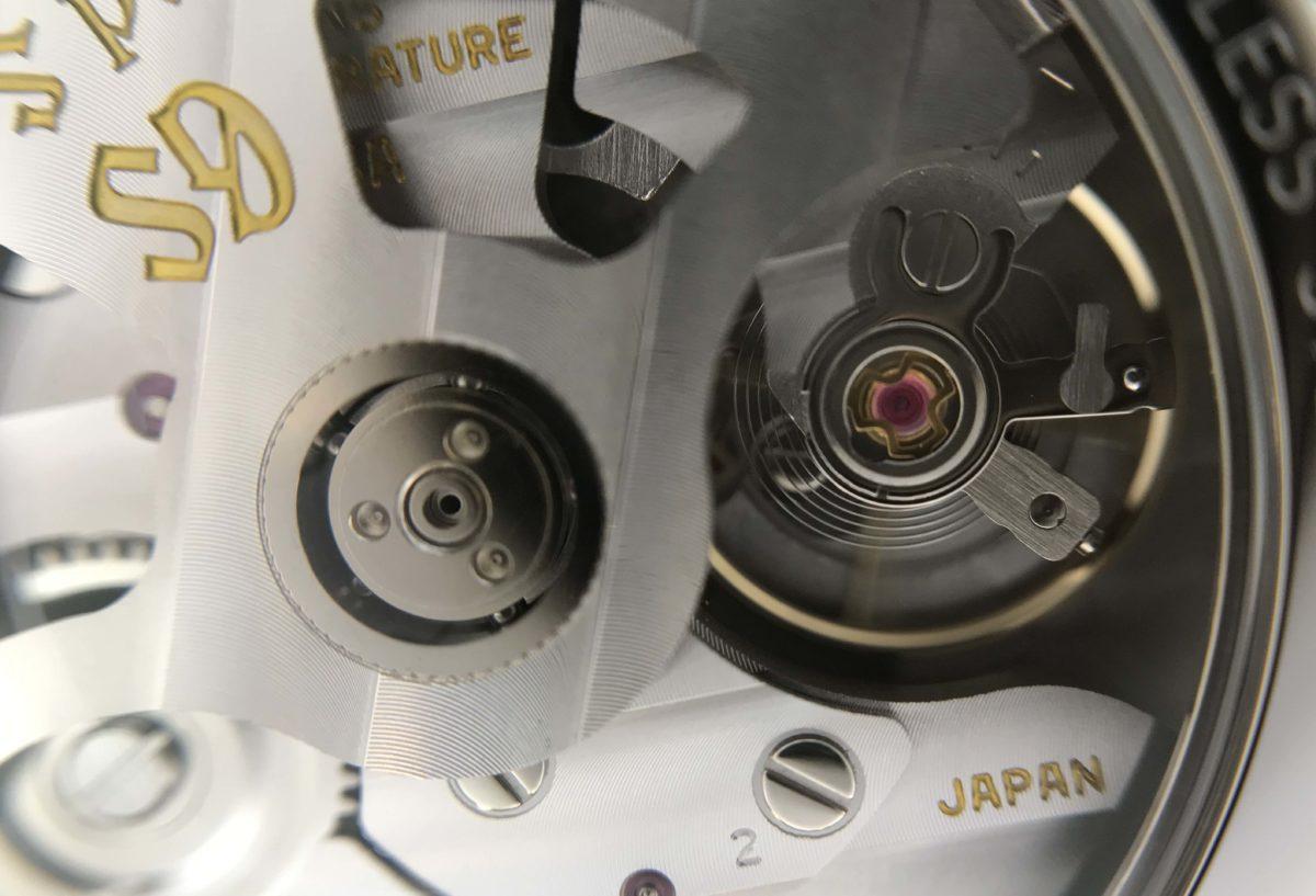 【静岡市】グランドセイコー機械式の裏蓋てどんな感じ? 「SBGR317」