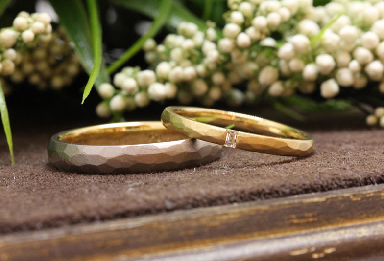 【静岡市】手作りの優しい温もりが魅了する「Garden」の結婚指輪をご紹介