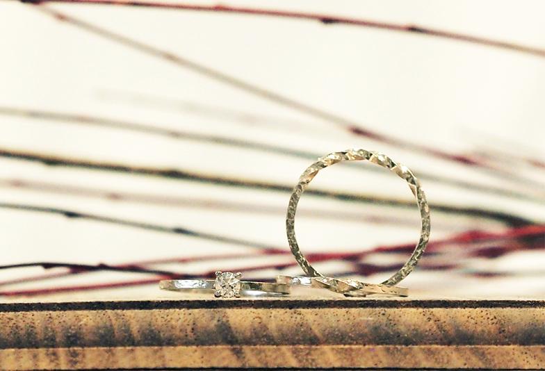 【福岡県久留米市】鍛造製法の結婚指輪-amorvia《アモルウィア》-