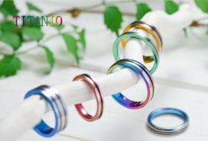 梅田・大阪で今、金属アレルギーをお持ちの方に大人気の素材【チタンの結婚指輪】