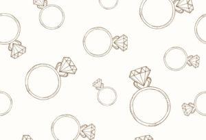 【石川県】小松市 ダイヤモンドの爪の留め方での印象の違い