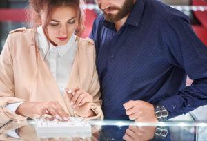 【富山市】結婚指輪はキュートに!ピンクの入ったマリッジリングをご紹介