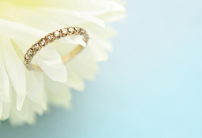 【赤穂市】結婚指輪・婚約指輪にも!キラキラ輝くエタニティリングが人気の理由とは