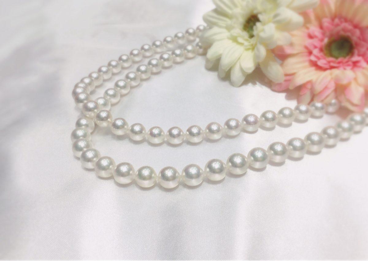 【福井市】そのままにしていない?真珠ネックレスの正しい扱い方