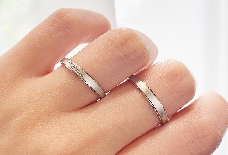 【富山市】マット加工の結婚指輪!落ち着いた雰囲気で人気なデザインとは