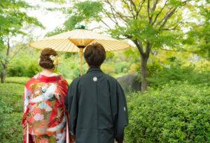 【大阪・貝塚】和装の前撮りはこれからの時期がオススメ!