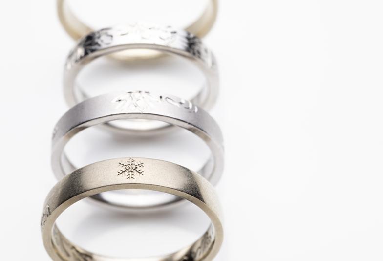 【浜松市】結婚指輪はちょっと個性的に!変わったテクスチャーや横顔美人な結婚指輪特集