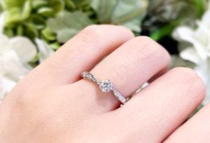 【金沢市】婚約指輪は大きなダイヤモンドでなければいけない??