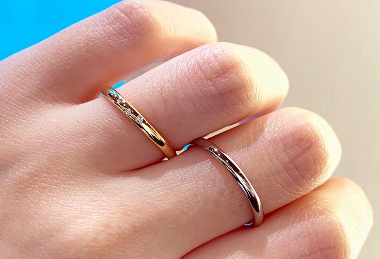 【富山市】結婚指輪の強度への不安を解決できちゃう!鍛造リングとは??