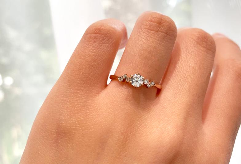 【富山市】パリと京都の美が融合した婚約指輪「LAPAGE」