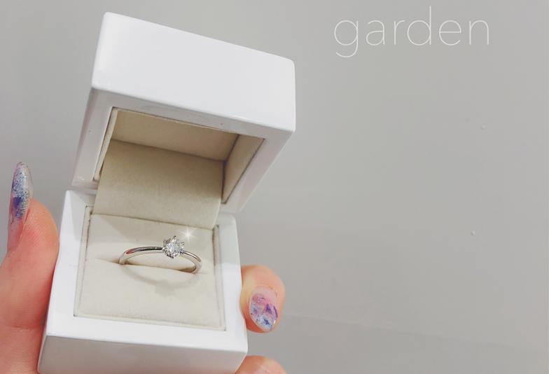 後から選べる婚約指輪はgarden梅田