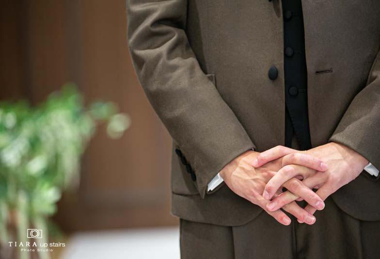 【静岡フォトスタジオ】結婚式当日のサプライズファーストミート