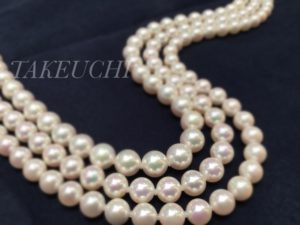 【福井市エルパ】花嫁道具に真珠を・・・