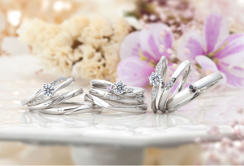 【静岡市】婚約指輪と結婚指輪のセットでお探しなら「Monamour-モナムール」がおすすめ