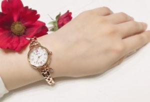 【石川県】小松市 キュートな腕時計の決定版!ときめく可愛さ『 CITIZEN~wicca~ 』