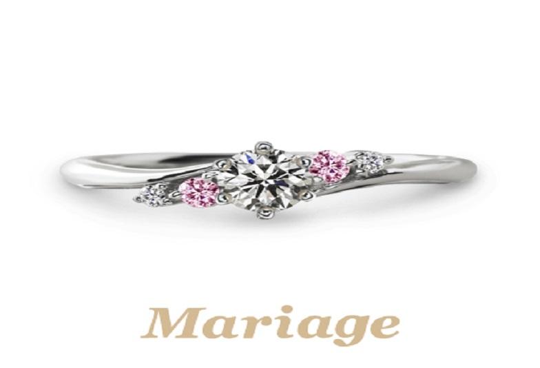 マリアージュプレディスィの婚約指輪でプロポーズ