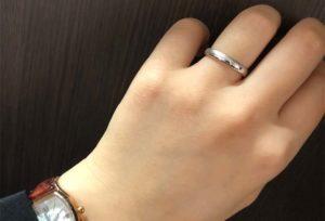 【金沢市】傷のつきにくい結婚指輪がいい!という方へのオススメリング