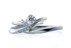 【米沢市】贅沢!妥協なく厳選された「アイスブルーダイヤモンド」の婚約指輪と結婚指輪!