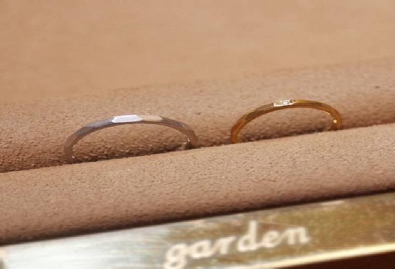 心斎橋なんばで手作り指輪が出来る結婚指輪専門店3