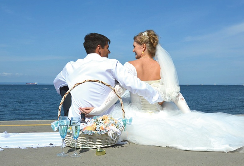 【新潟市】誕生石の結婚指輪【9月ブルーサファイアのマリッジリング】
